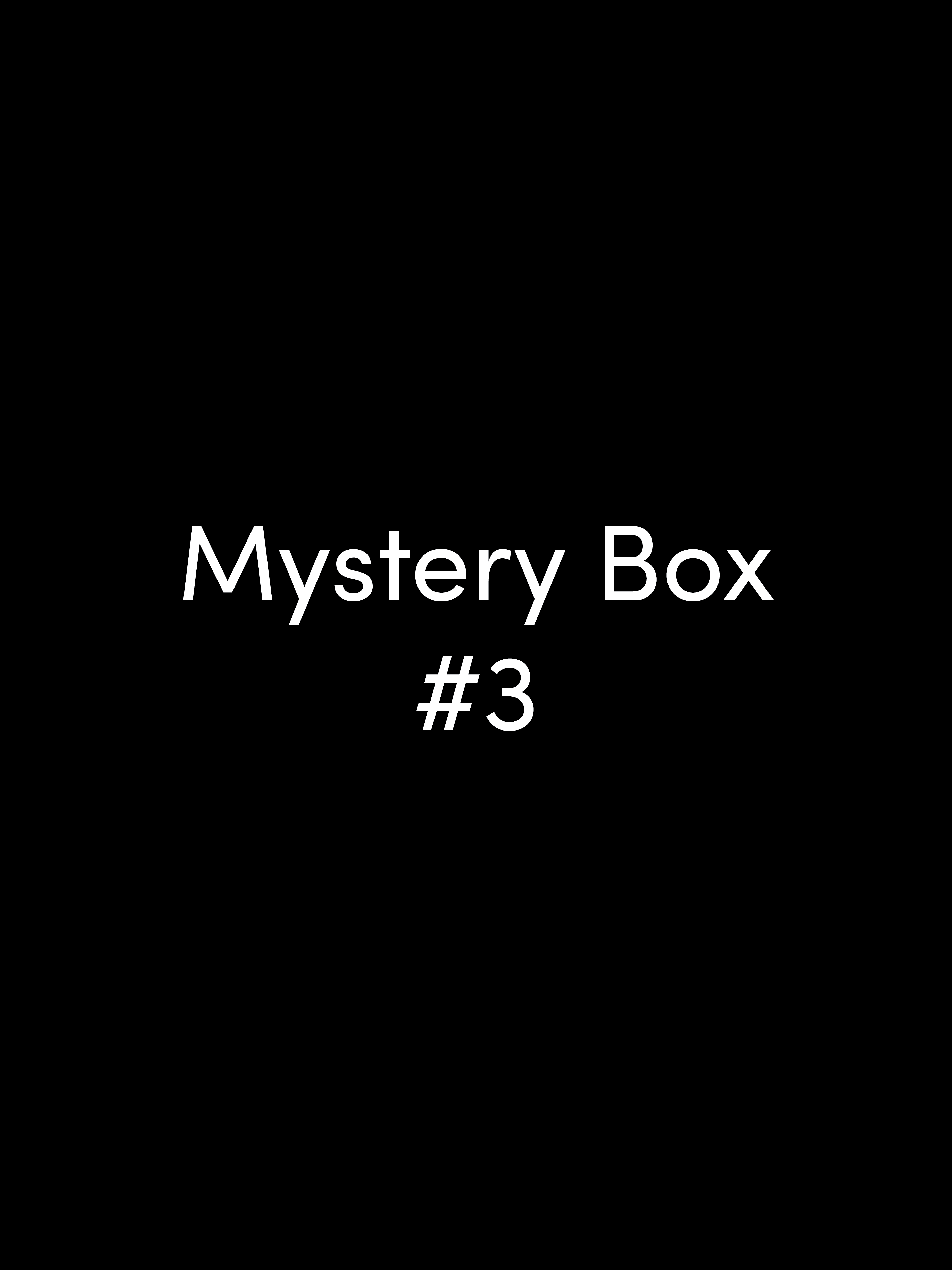 Image for Mystery Box #3